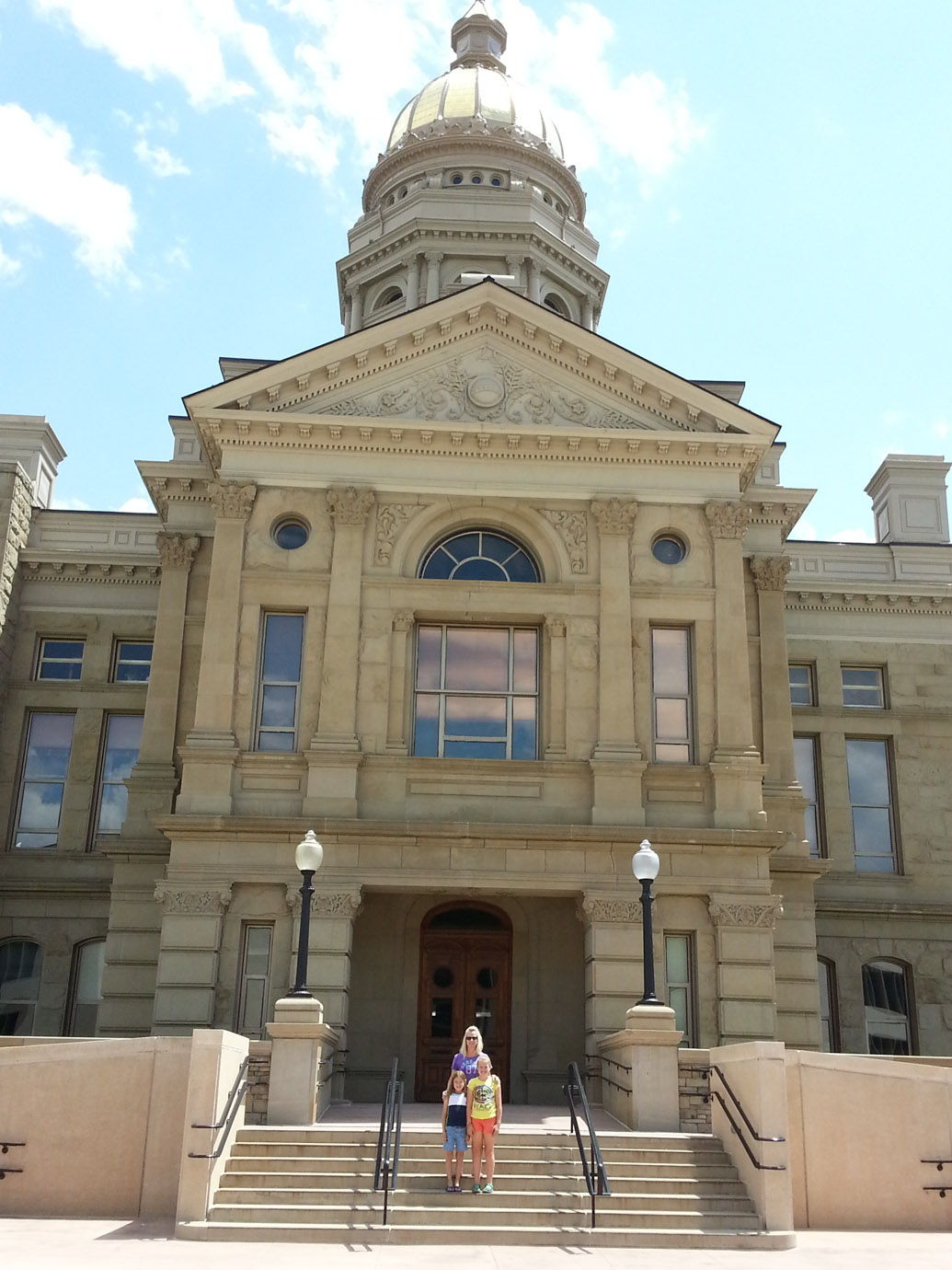 Shivers Out Yonder | Wyoming Capitol Building